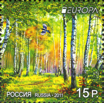 европа лес