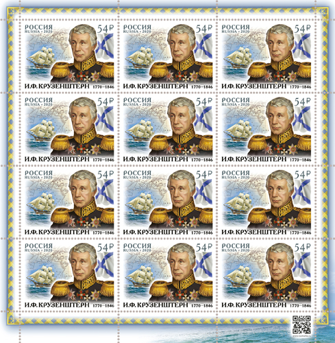 200th Birth Anniversary of navigator I.F Krusenstern (1770–1846)